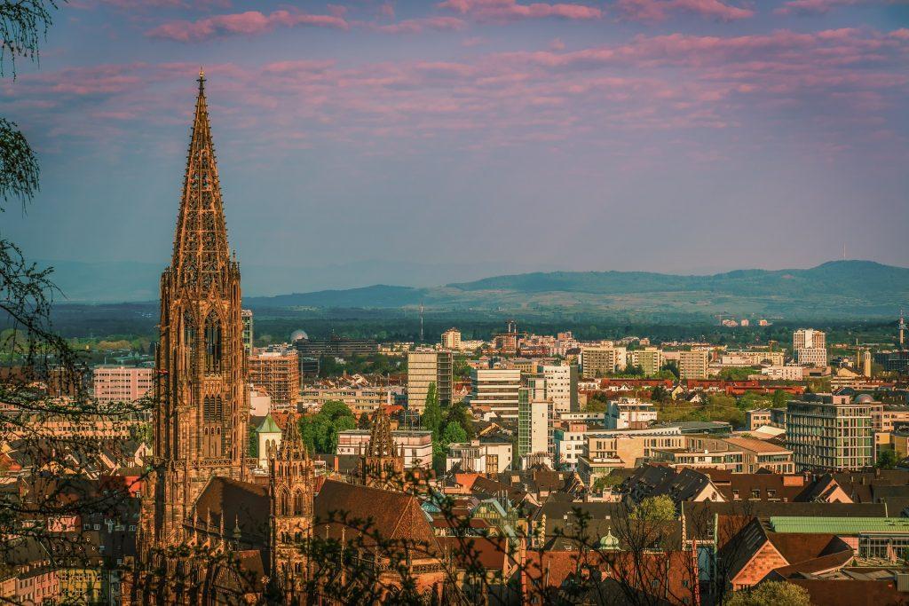 Panorama Freiburg im Breisgau