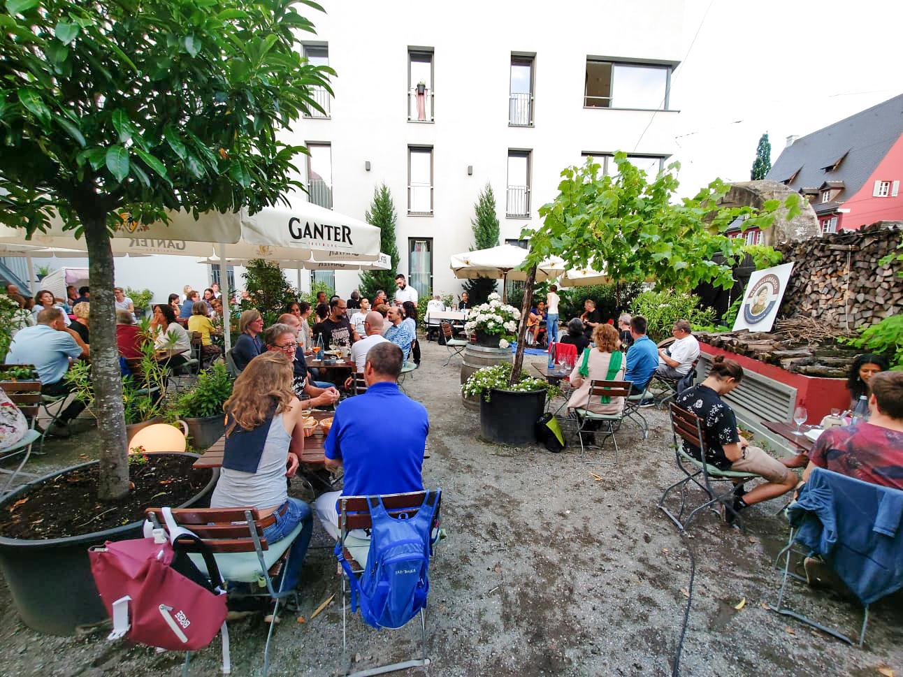 Restaurant-Biergarten Schiff Freiburg