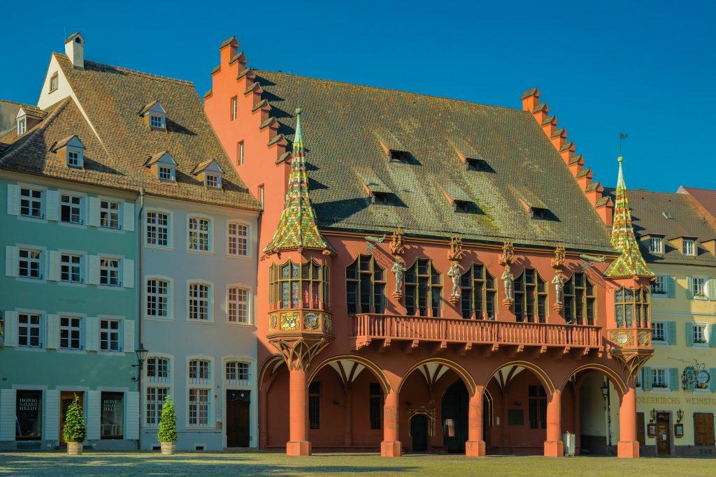 Historisches Kaufhaus Münsterplatz Freiburg